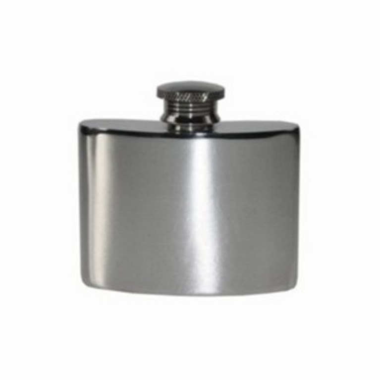 2oz Plain Hip Flask
