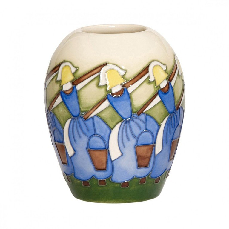 Moorcroft Eight Maids Vase 102/3