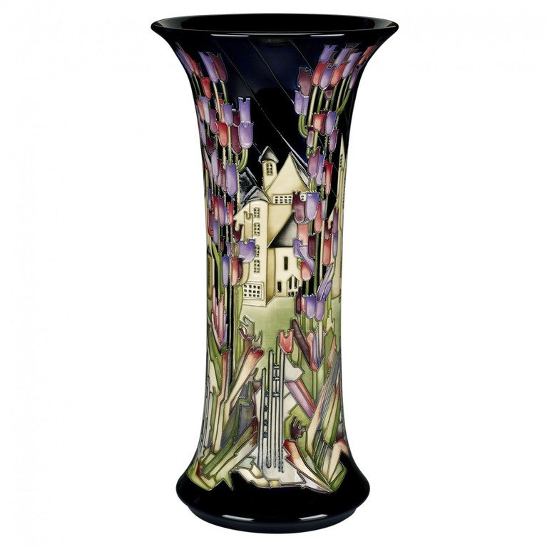 Moorcroft Town of Flowers Vase 159/18