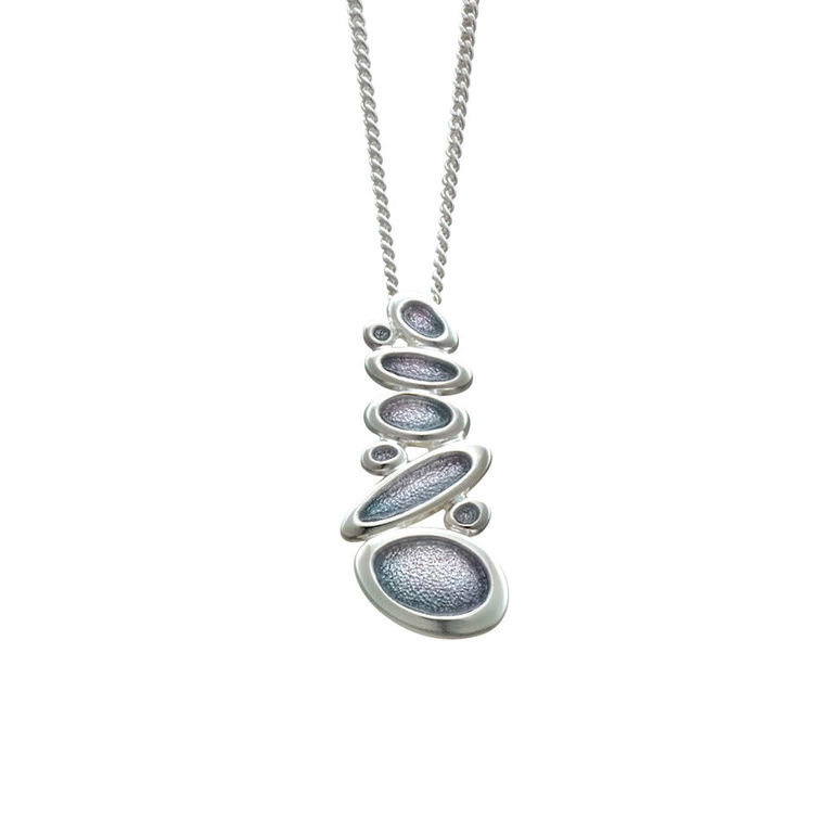 Sheila Fleet Shoreline Pebble Pendant EP168