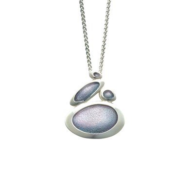 Sheila Fleet Shoreline Pebble Pendant EPX168